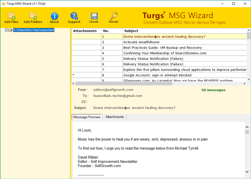 How to Convert Outlook MSG to Word (DOC / DOCX) Format with
