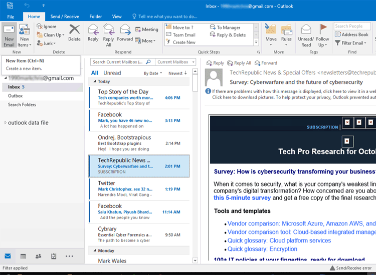 Outlook is Sending Multiple Copies of an Email - Turgs Blog