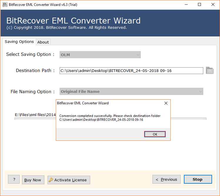 EML to OLM Converter - Import EML to Outlook for Mac 2019, 2016, 2011