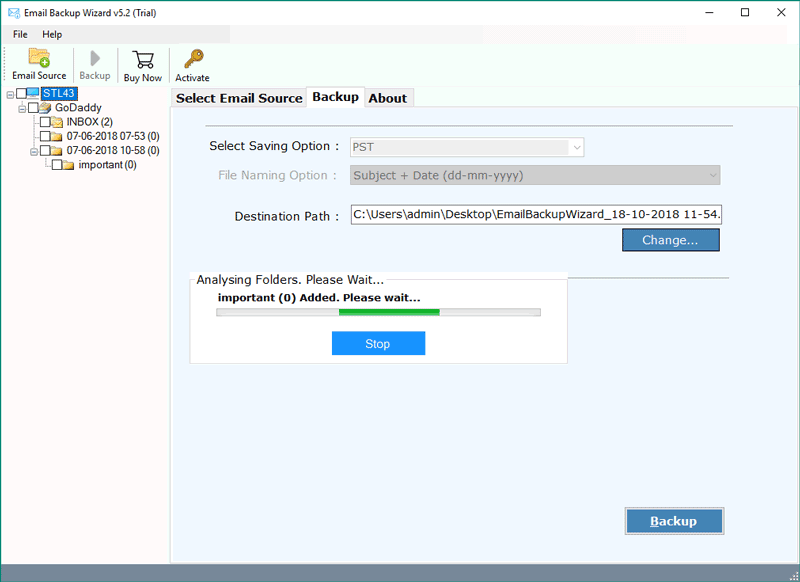 BT Mail (Btinternet) Backup – Transfer BT Mail to Outlook
