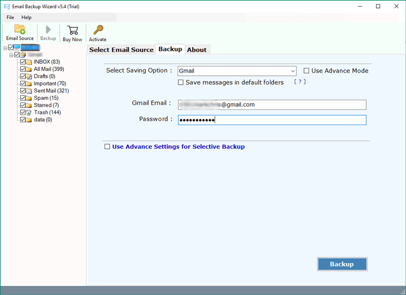AOL Backup Tool – Migrate/Transfer AOL Mail to Gmail