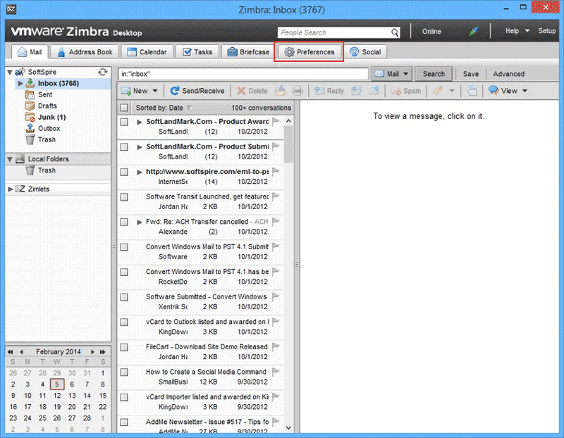 Zimbra to Office 365 Migration – Export / Import Zimbra TGZ to