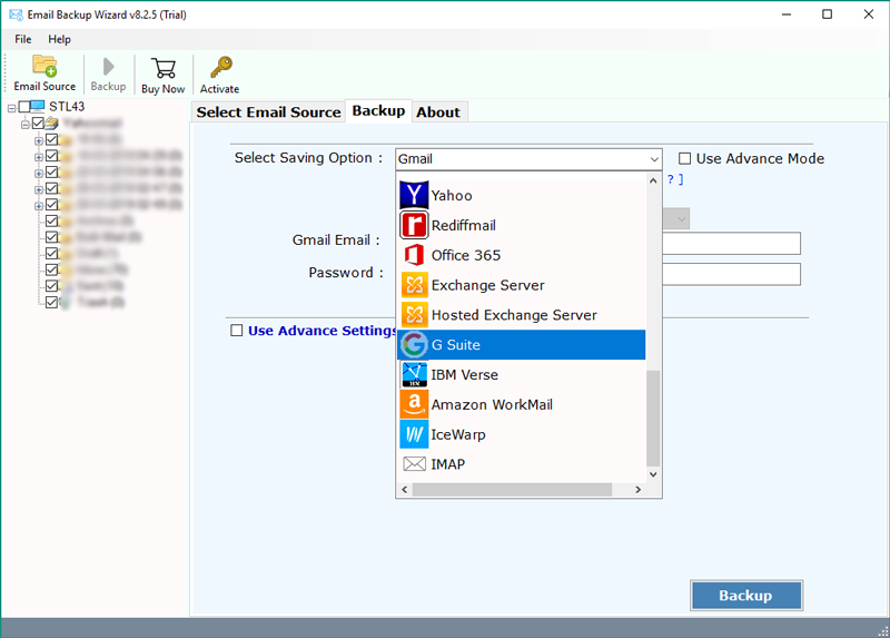 Amazon WorkMail to Gmail – Migrate Emails from AWS WorkMail