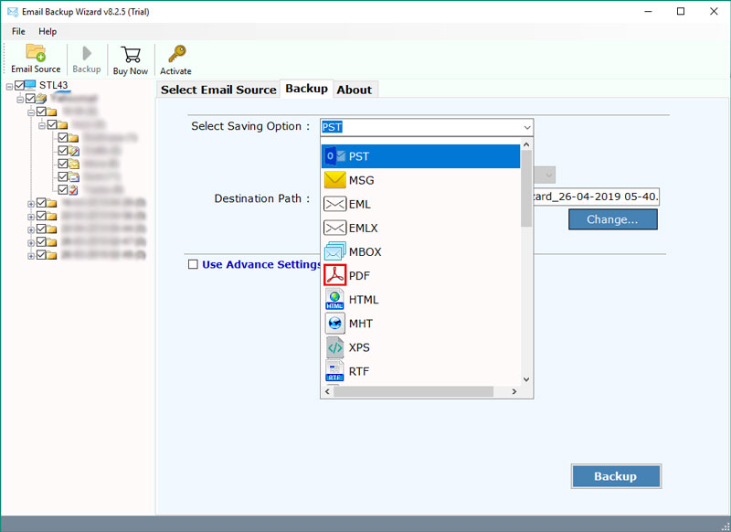 How to Transfer Windstream Email to Outlook 2019, 2016, 2013
