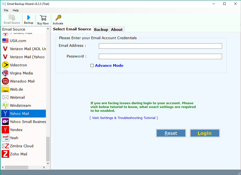 How to Save Yahoo Emails to Dropbox – Download Yahoo Mail Emails as Zip