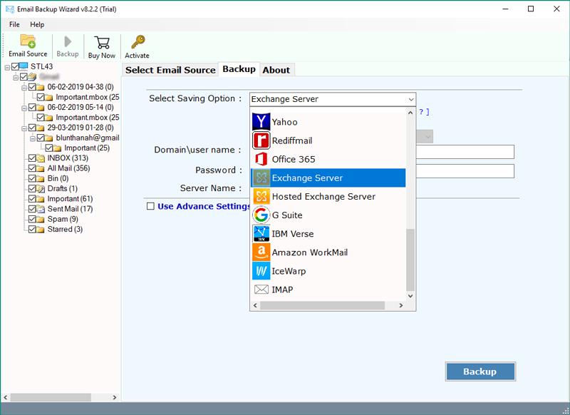 Migrate Axigen to Exchange, Hosted Exchange, and Exchange Online
