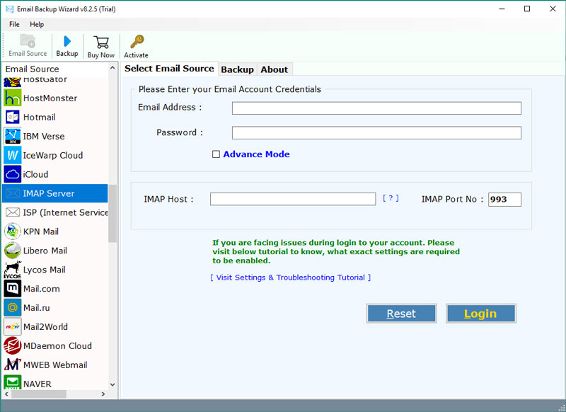 IMAP to Exchange Migration - Import IMAP Emails to Exchange