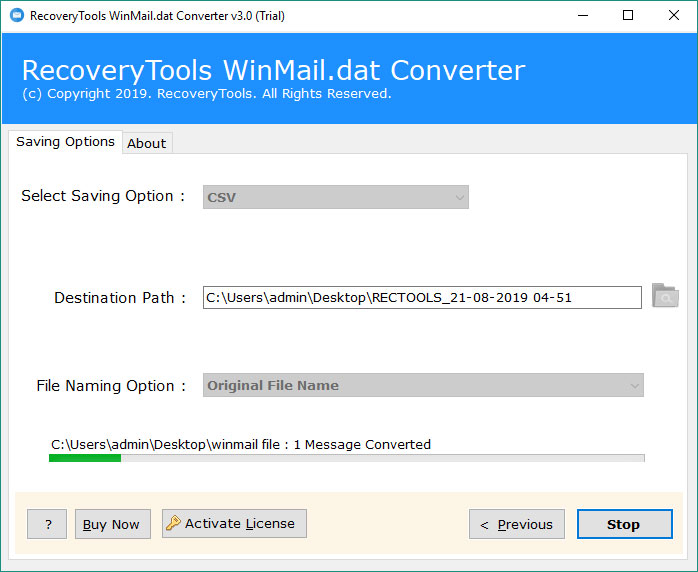 Winmail dat to Excel Converter – Open Winmail dat in Excel