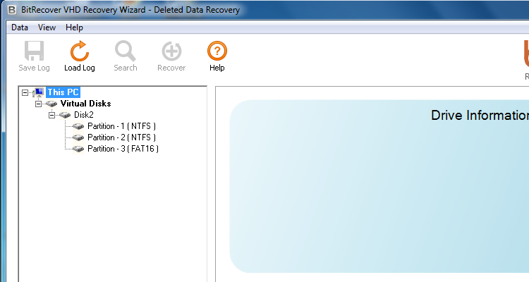 Turgs VHD Recovery Software Wizard