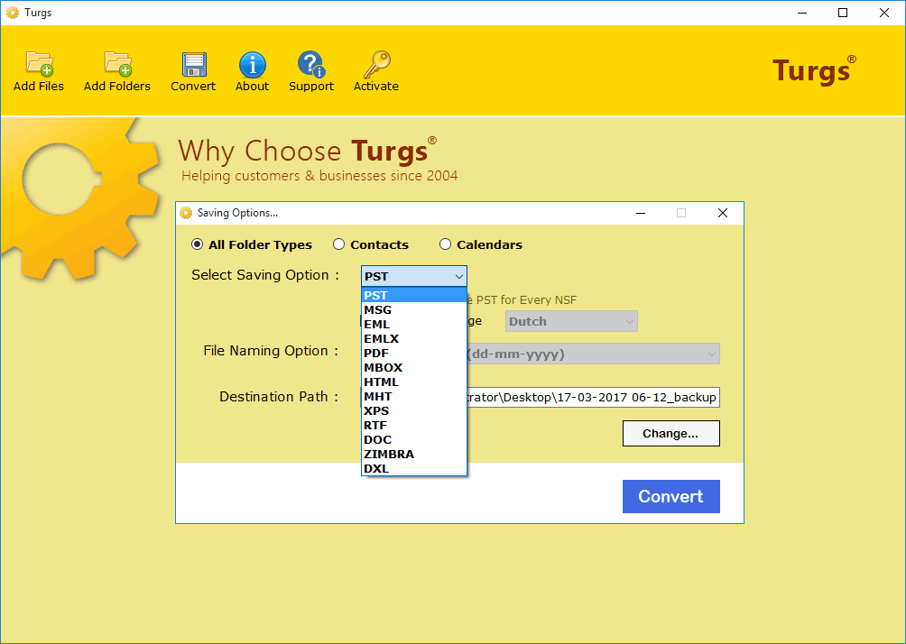 Turgs vCard Viewer