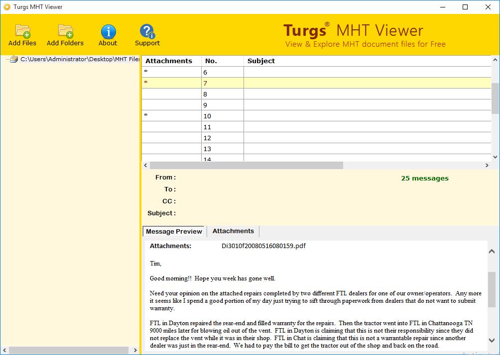 MHT Viewer 2.0 full