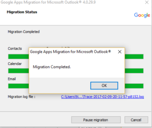 Office 365 PST to Gmail Migration