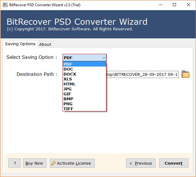 Turgs PSD Converter Wizard