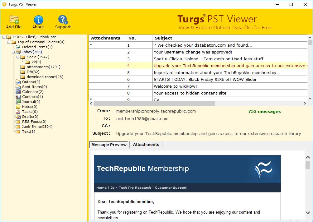PST Viewer 2.0 full