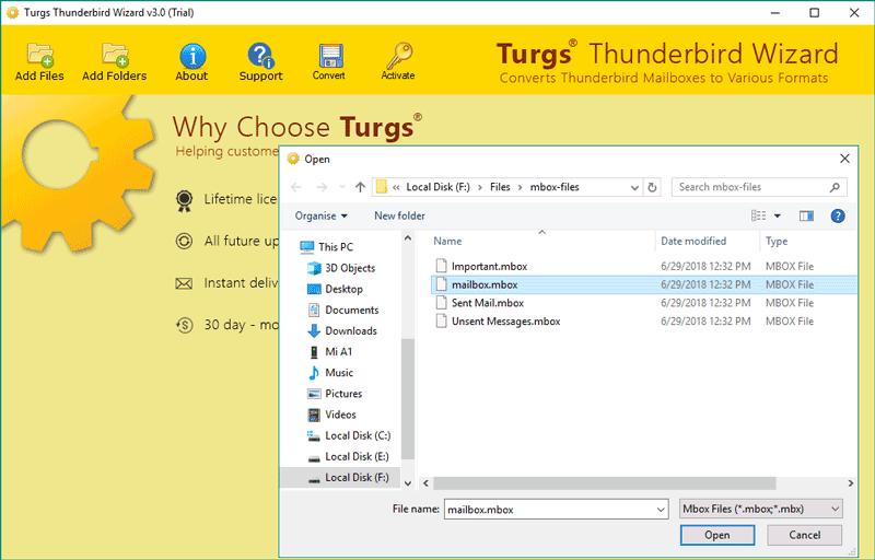 How to Archive Thunderbird Email Folders - Thunderbird