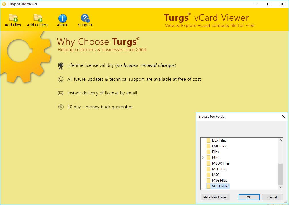 Turgs vCard Viewer
