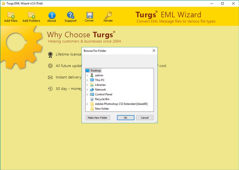 Turgs Windows Live Mail Converter
