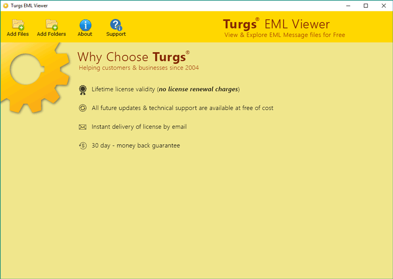 Turgs Free Windows Live Mail Viewer