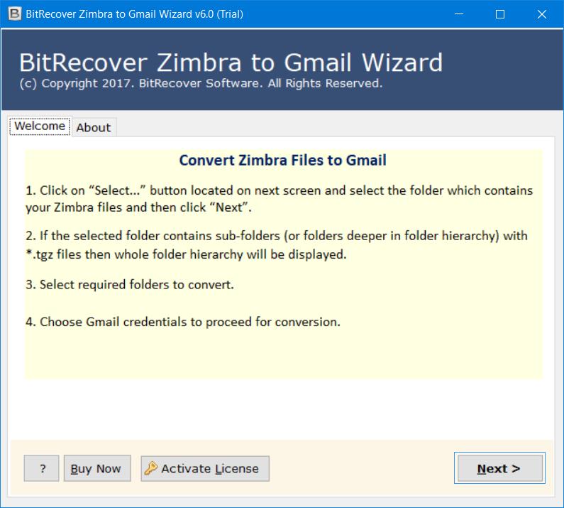 Turgs Zimbra to Gmail Wizard