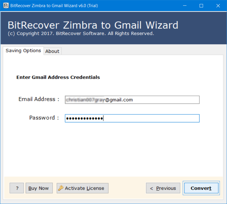 Turgs Zimbra to Gmail Wizard